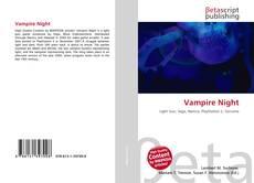 Bookcover of Vampire Night
