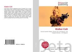 Capa do livro de Walker Colt