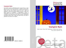Bookcover of Vampire Rain