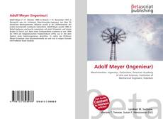 Bookcover of Adolf Meyer (Ingenieur)