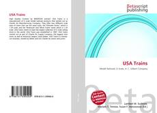 USA Trains kitap kapağı