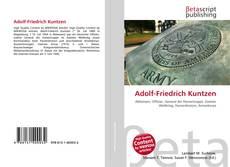 Buchcover von Adolf-Friedrich Kuntzen