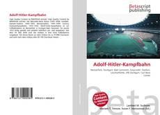 Adolf-Hitler-Kampfbahn kitap kapağı