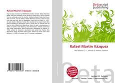 Bookcover of Rafael Martín Vázquez