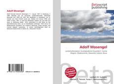 Buchcover von Adolf Mosengel