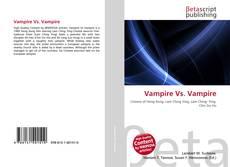 Bookcover of Vampire Vs. Vampire