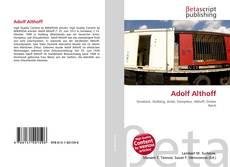 Bookcover of Adolf Althoff