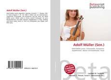 Bookcover of Adolf Müller (Sen.)