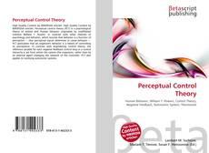 Обложка Perceptual Control Theory