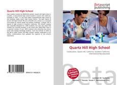 Bookcover of Quartz Hill High School