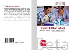 Quartz Hill High School kitap kapağı