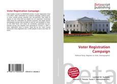 Обложка Voter Registration Campaign