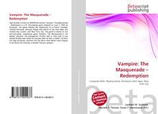 Vampire: The Masquerade – Redemption kitap kapağı