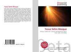 Bookcover of Yavuz Selim Mosque