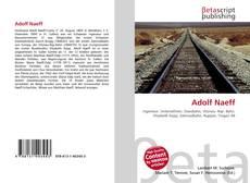 Buchcover von Adolf Naeff