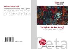 Bookcover of Vampires (Dukes Song)