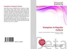 Bookcover of Vampires in Popular Culture