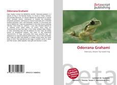 Capa do livro de Odorrana Grahami