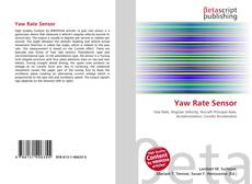 Bookcover of Yaw Rate Sensor