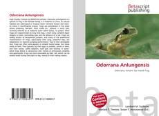 Couverture de Odorrana Anlungensis
