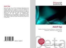 Bookcover of Adolf Ogi