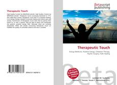 Couverture de Therapeutic Touch