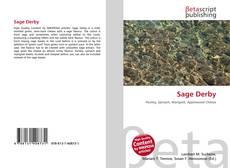 Portada del libro de Sage Derby