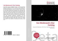 Couverture de Van Biesbroeck's Star Catalog