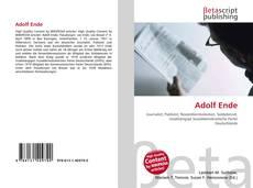 Buchcover von Adolf Ende