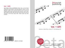 Bookcover of Vol. 1 (EP)