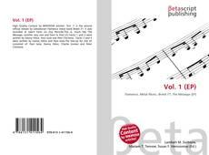 Обложка Vol. 1 (EP)