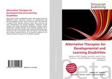 Capa do livro de Alternative Therapies for Developmental and Learning Disabilities