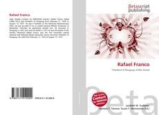 Capa do livro de Rafael Franco