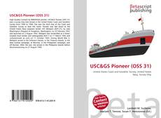 Bookcover of USC&GS Pioneer (OSS 31)