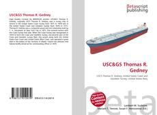 Обложка USC&GS Thomas R. Gedney