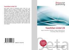 Bookcover of Yaxchilan Lintel 24