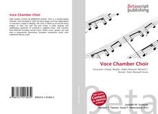 Bookcover of Voce Chamber Choir