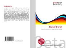Rafael Durán kitap kapağı