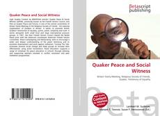 Buchcover von Quaker Peace and Social Witness