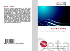 Bookcover of Rafael Carrera