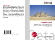 Bookcover of Adolf Erman