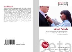 Adolf Fetsch kitap kapağı