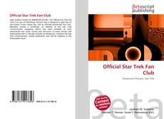 Обложка Official Star Trek Fan Club