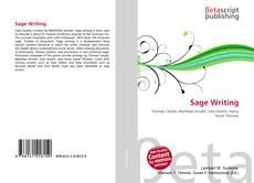 Buchcover von Sage Writing