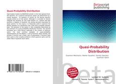 Bookcover of Quasi-Probability Distribution