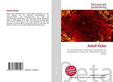 Capa do livro de Adolf Rübe