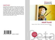 Buchcover von Adolf Frankl