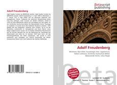 Buchcover von Adolf Freudenberg