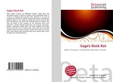 Bookcover of Sage's Rock Rat