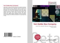 Buchcover von Van Galder Bus Company